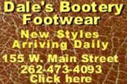 Dale's Bottery Footwear