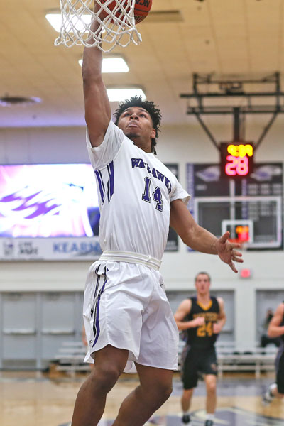 Junior guard Andre Brown (Kenosha, WI/Indian Trail) - 13 points.