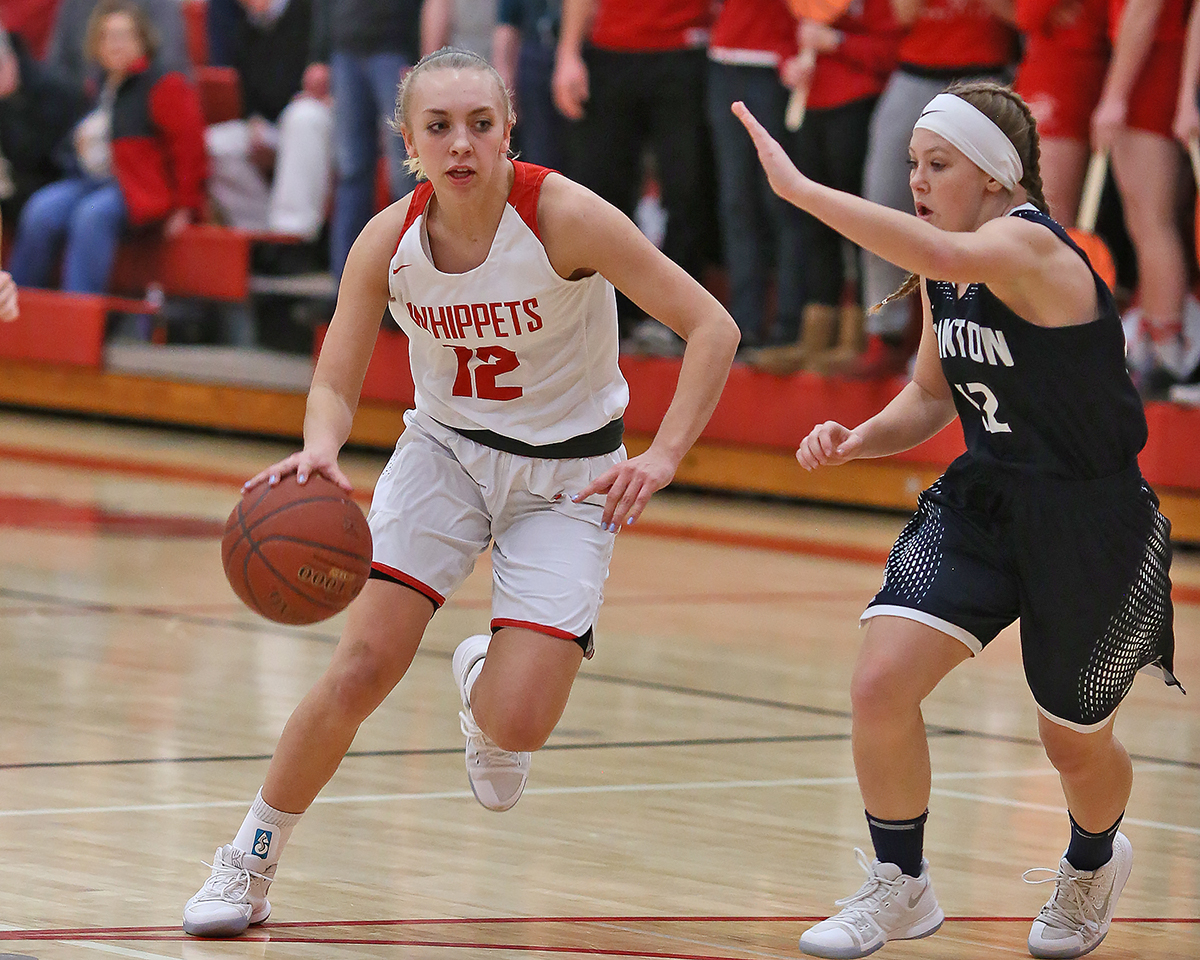 Allison Heckert led Whippet scoring with 21 points.