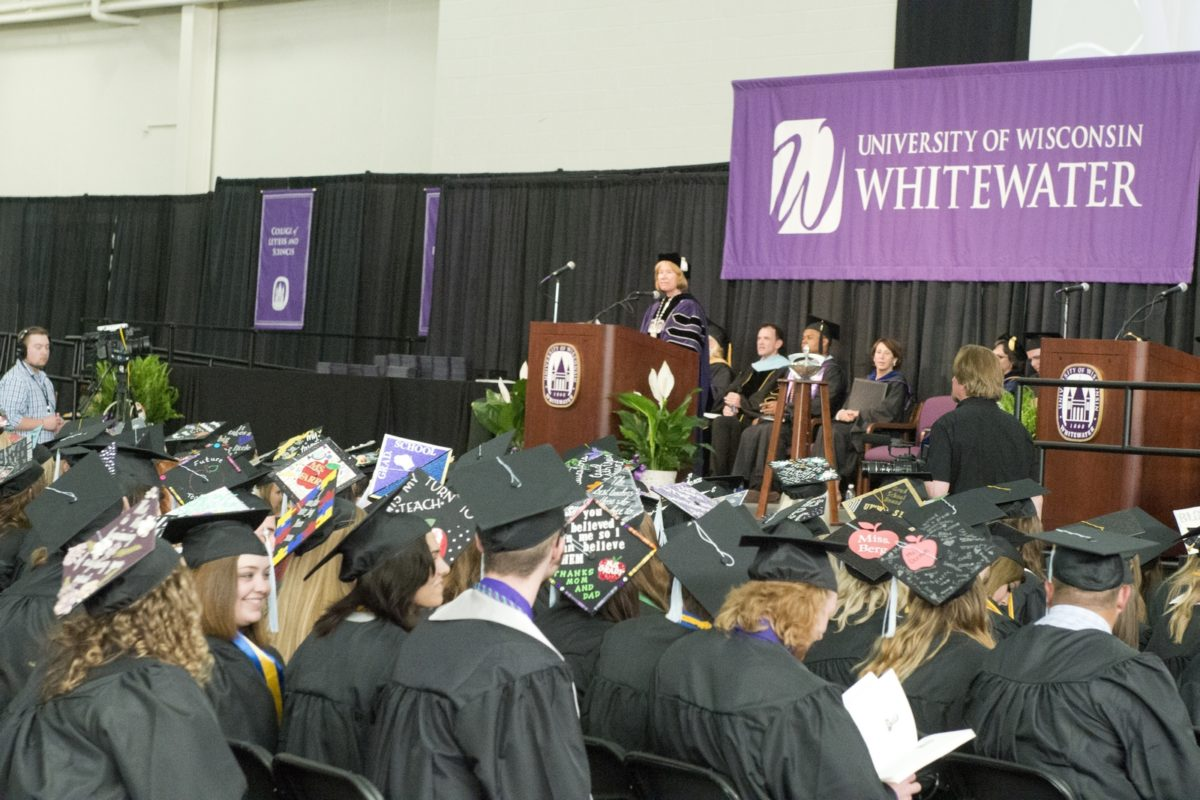 Chancellor Beverly Kopper Addresses the Graduates