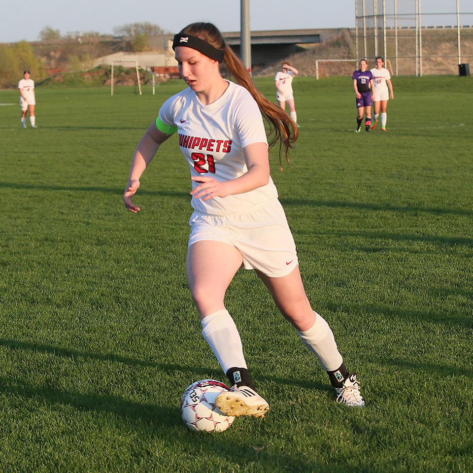 Jaden Henneman, pictured in this file photo, scored 2 goals.