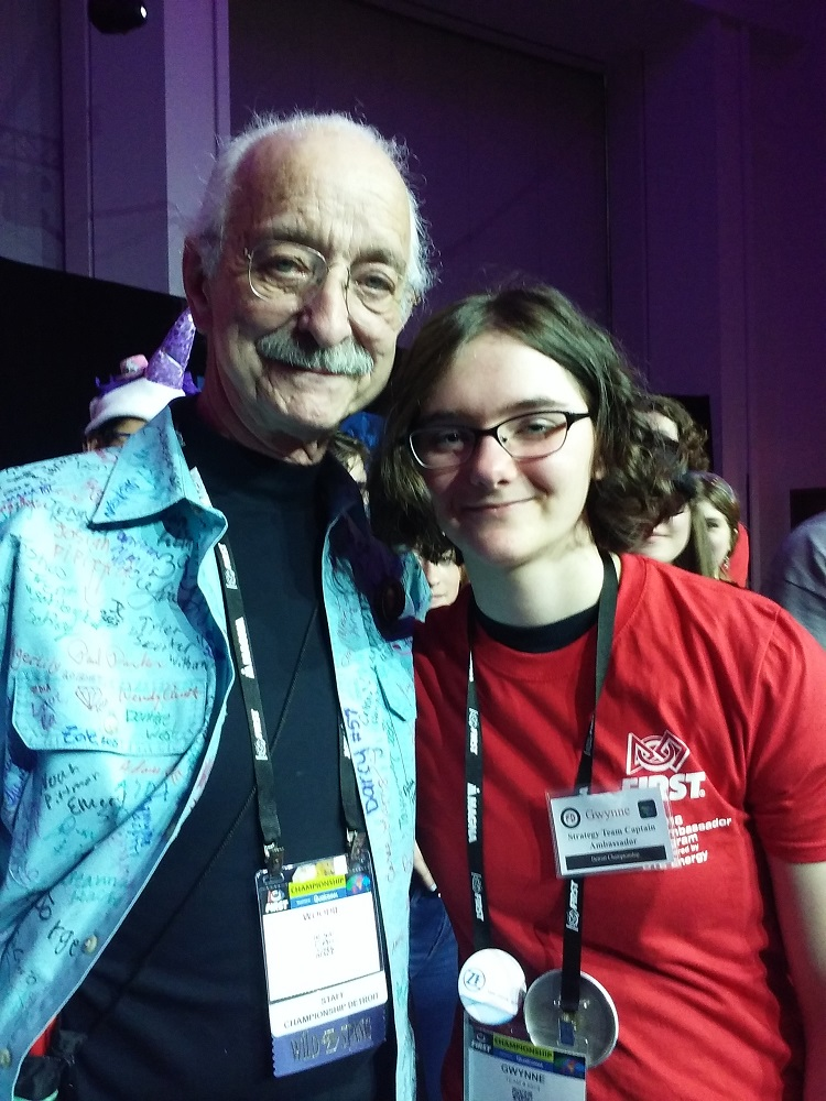 Meeting Woodie Flowers, Founder of FIRST