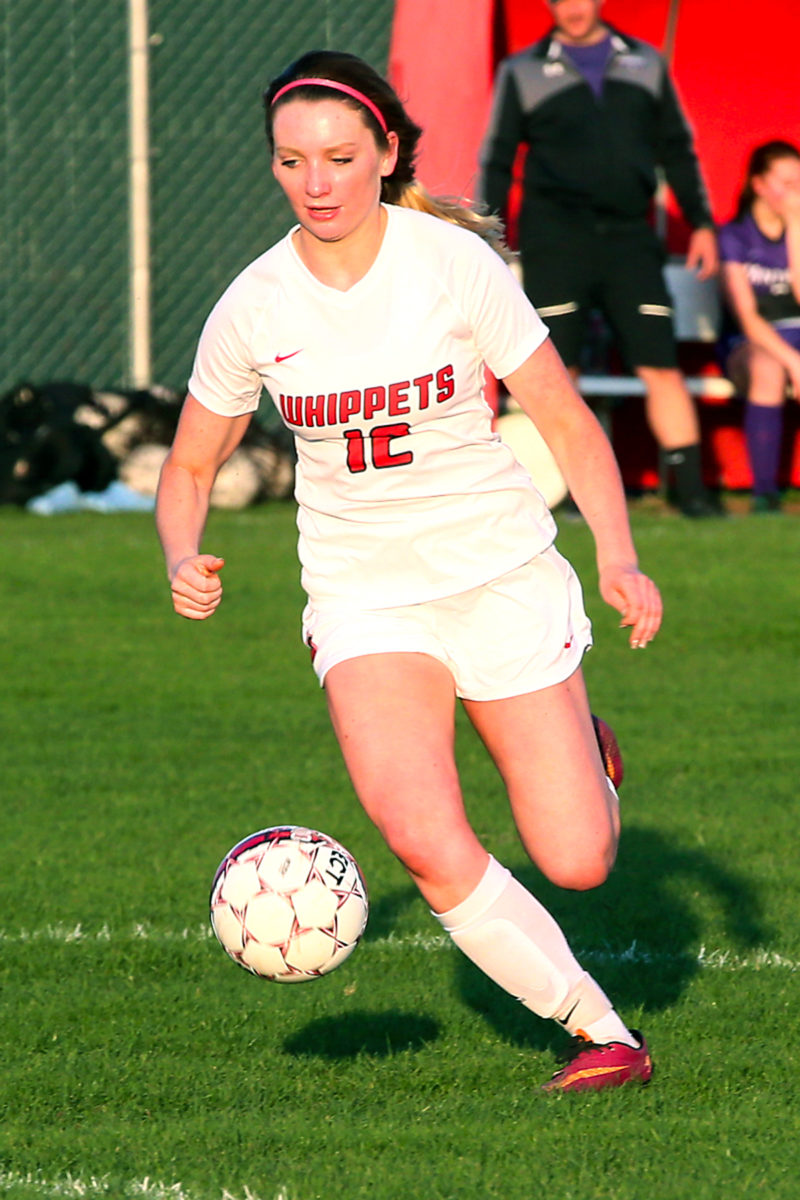 Sierra Brunner, pictured in this file photo, scored 2 goals.