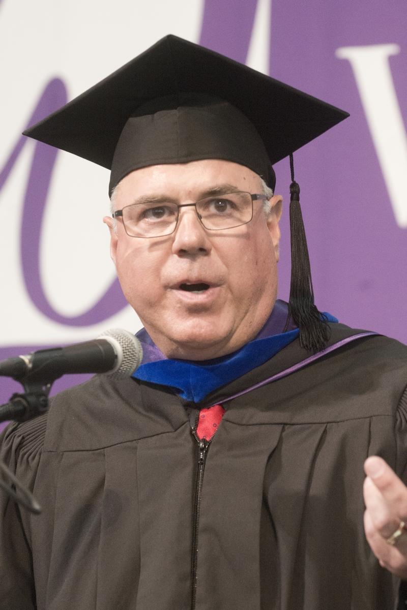 Timothy Hyland - Commencement Speaker