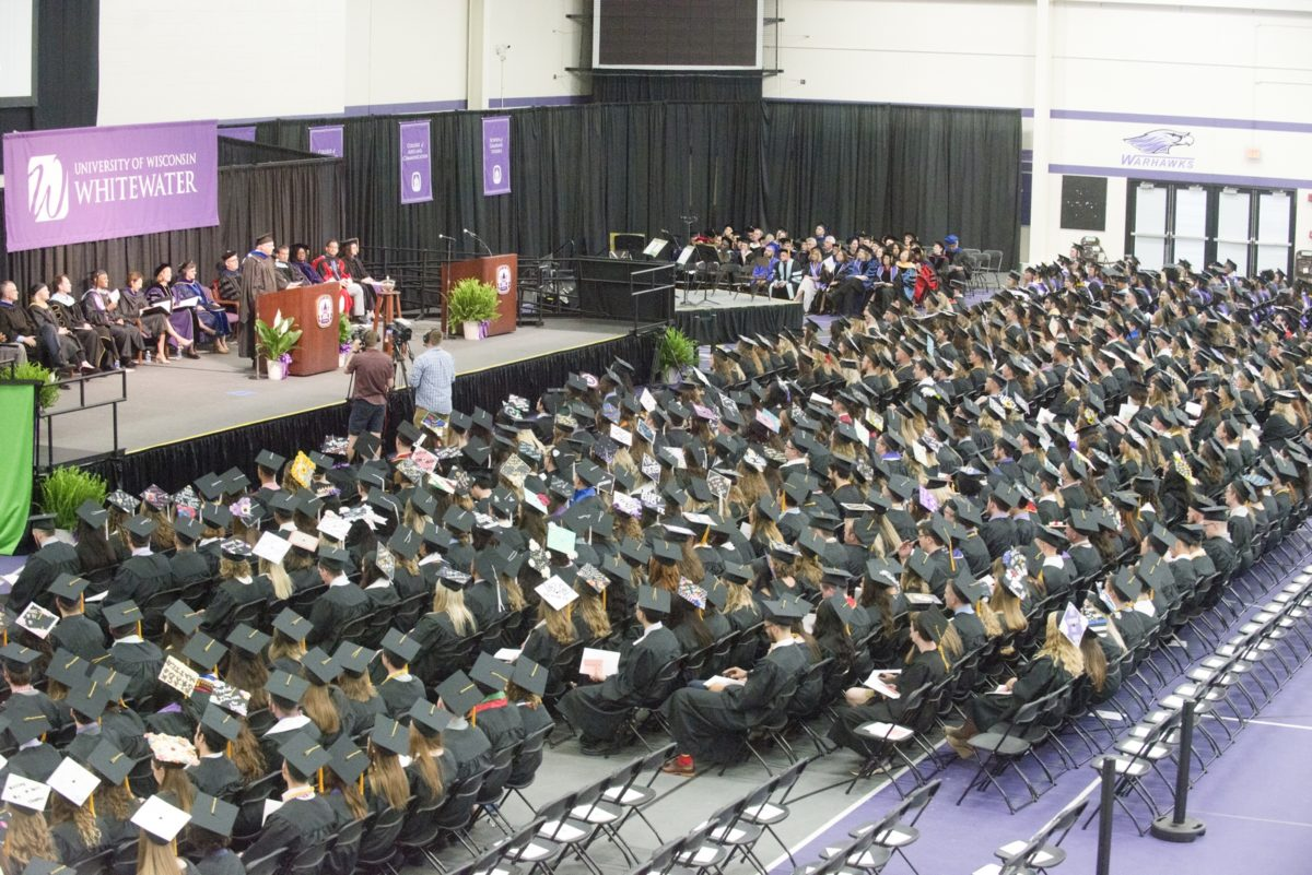 Commencement Speaker Timothy Hyland Addresses the Graduates