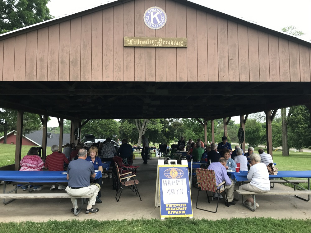 The picnic took place at the Kiwanis Shelter at Starin Park.