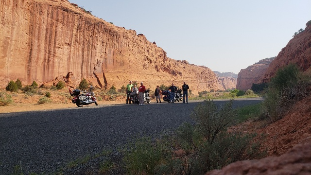 Group @ burr trail