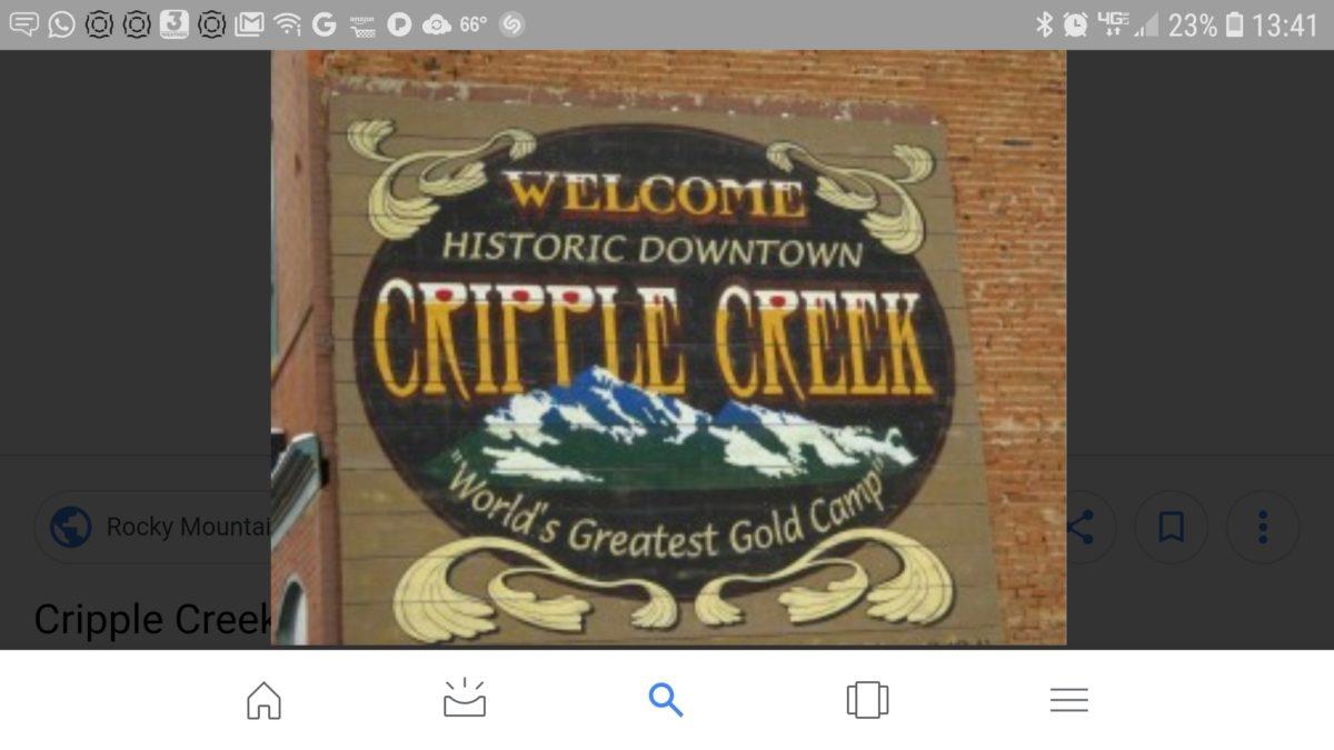 Invading Cripple Creek, Pikes Peak & Garden of the Gods… – Part 4 of ...
