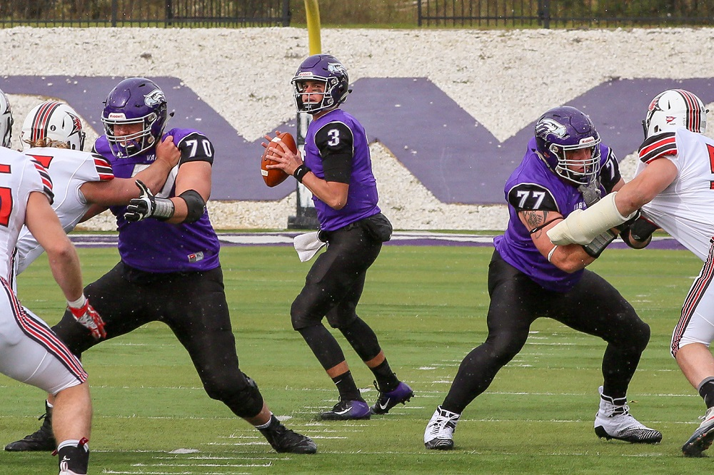 newest 9c642 6ea4e UW-Whitewater Runs to Homecoming Victory Over Falcons ...