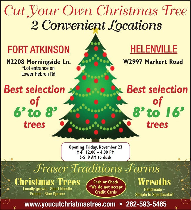 Looking For A Christmas Tree Whitewater Banner