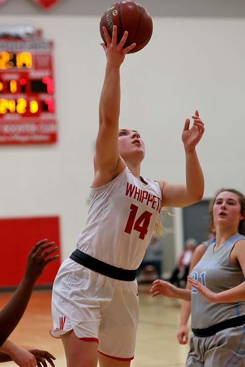 Abby Grosinske led the scoring with 14.