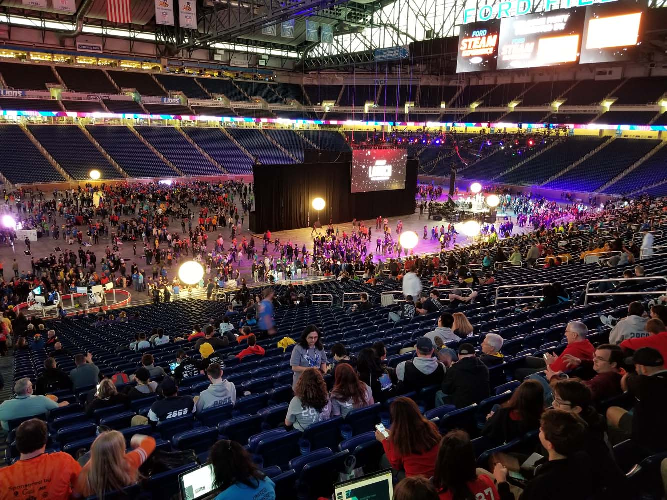 Welcome Party at Ford Field