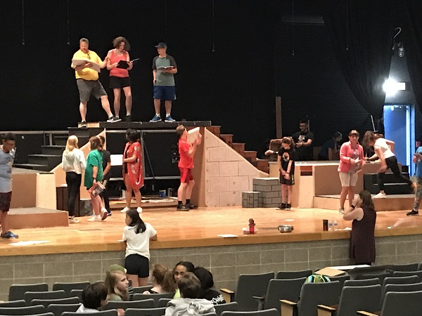 Getting the Summer School musical started!