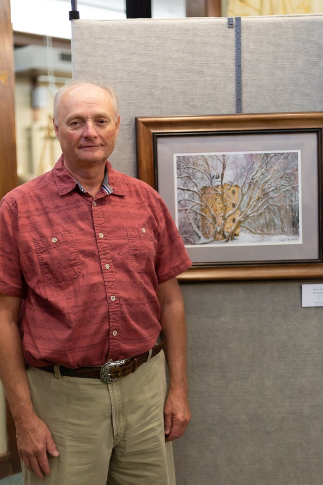 Best of Show: David Bueschel-Once a Farm