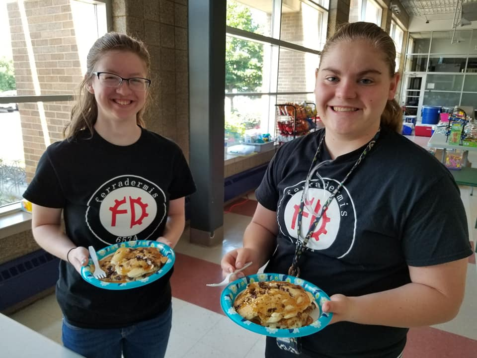 In addition to competing Ferradermis ran the concession stand as a fundraiser for the team