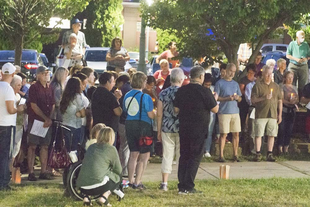 Lights for Liberty 7-12-19 #268 - Portion of entire group for silent moment (R5)