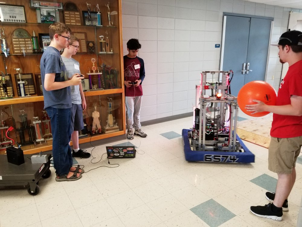 Drive Practice with the 2019 Competition Robot