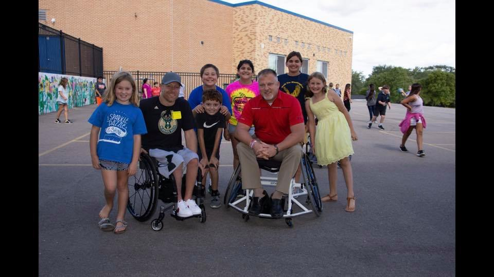 Wheel chair athletics