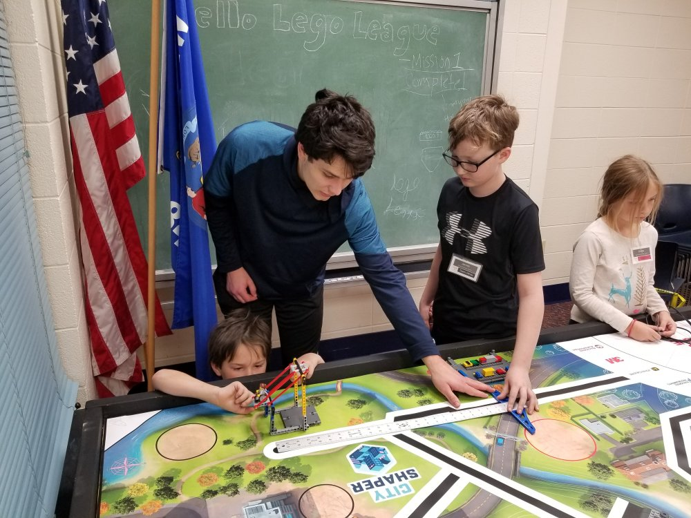 Carson Helps the Elementary Students Determine Distances Needed for their Code