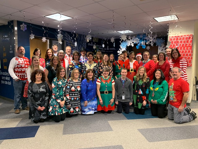 Happy Holidays from Washington Elementary School