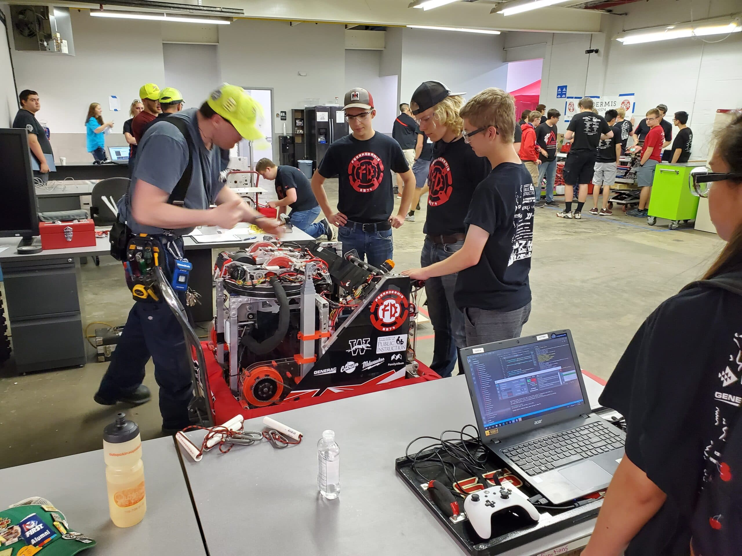 Getting the Robot Officially Inspected before Competition Begins