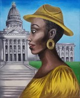 Painting by Marina Jones