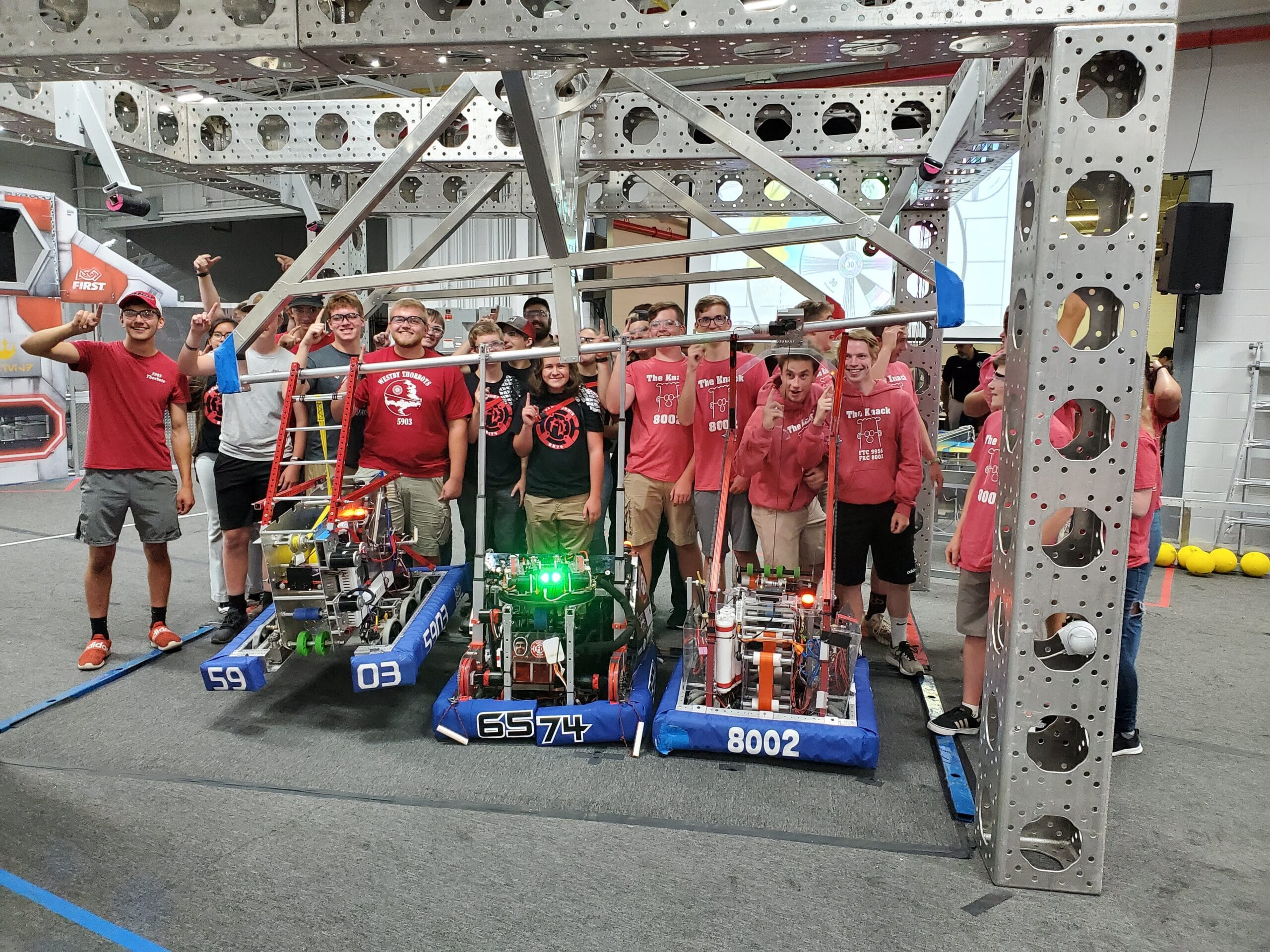 The Winning Alliance After the Last Match