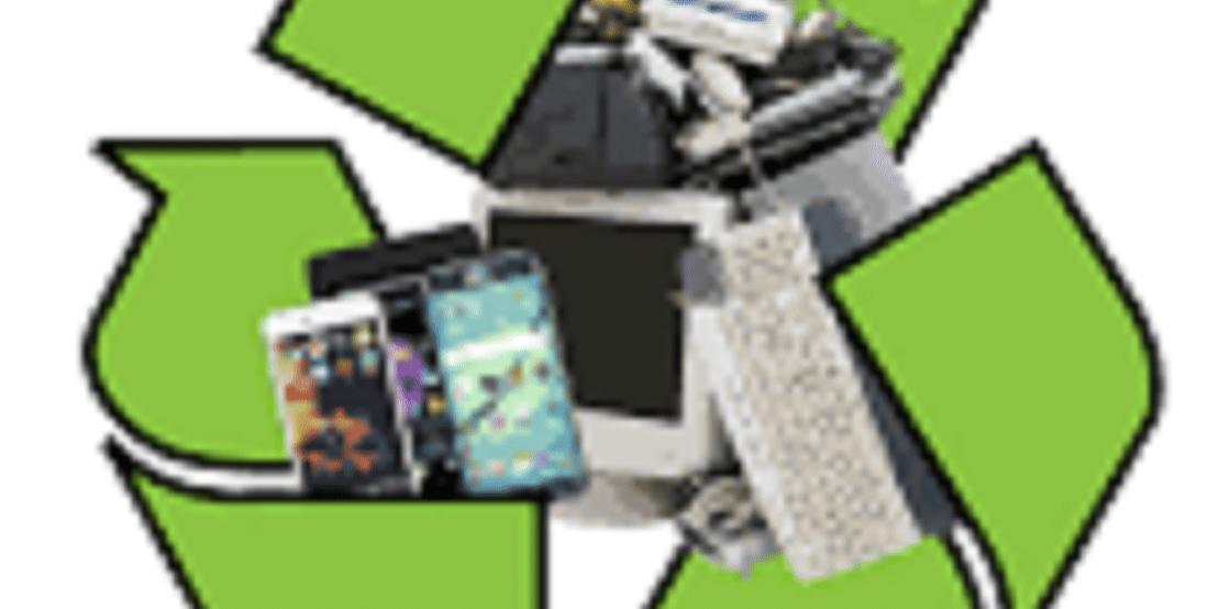 electronics recycling crop