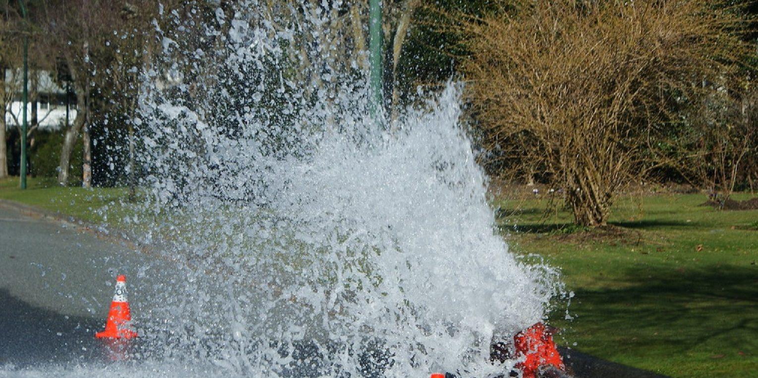 hydrant flushing cc