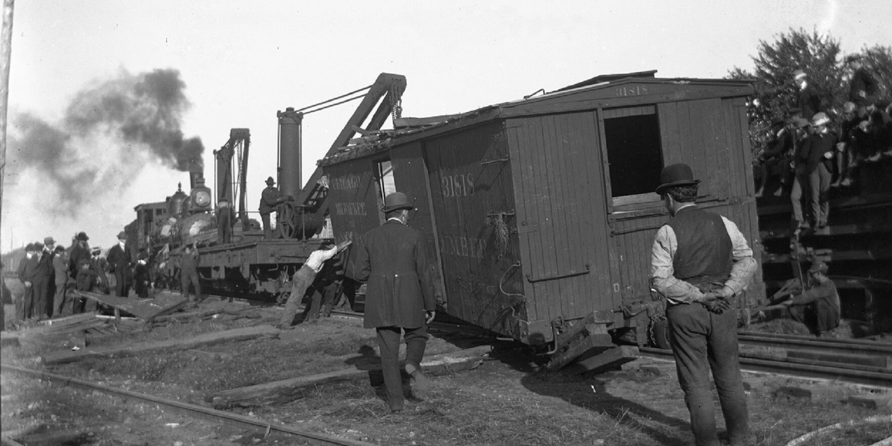 train crash crop