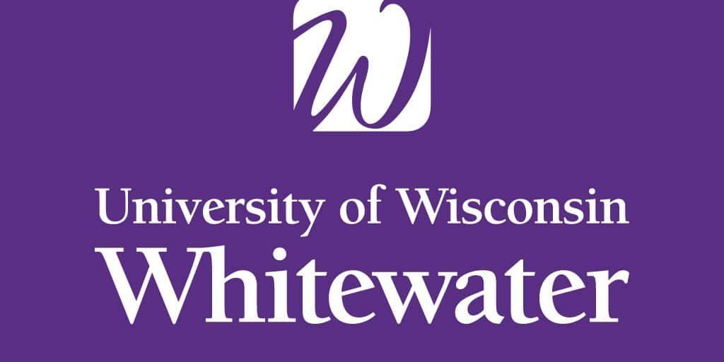 uww logo purple background